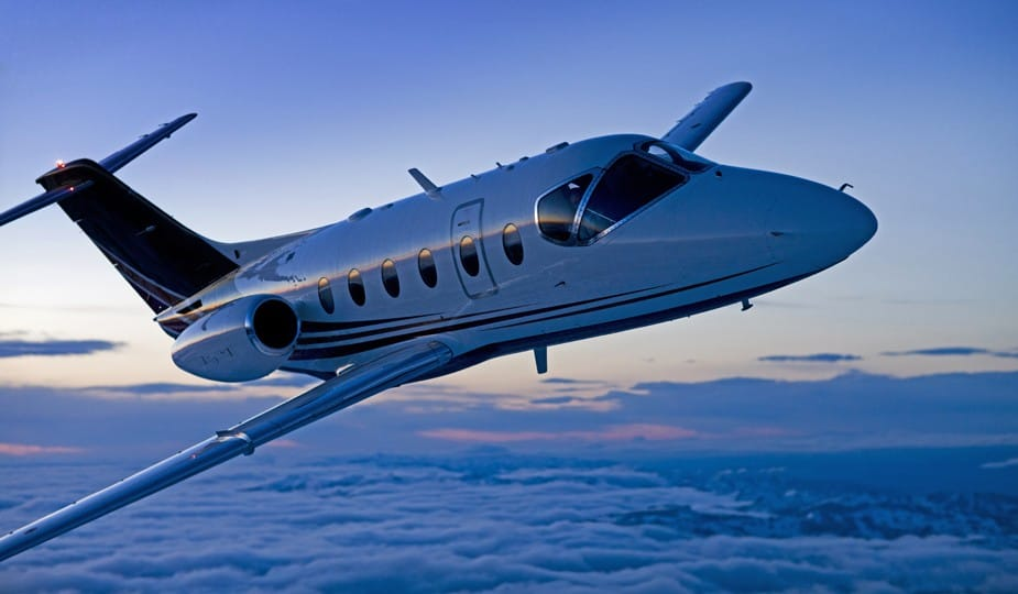 Concierge Private Jet in flight