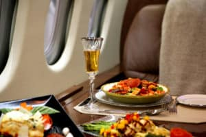 private airplane catering